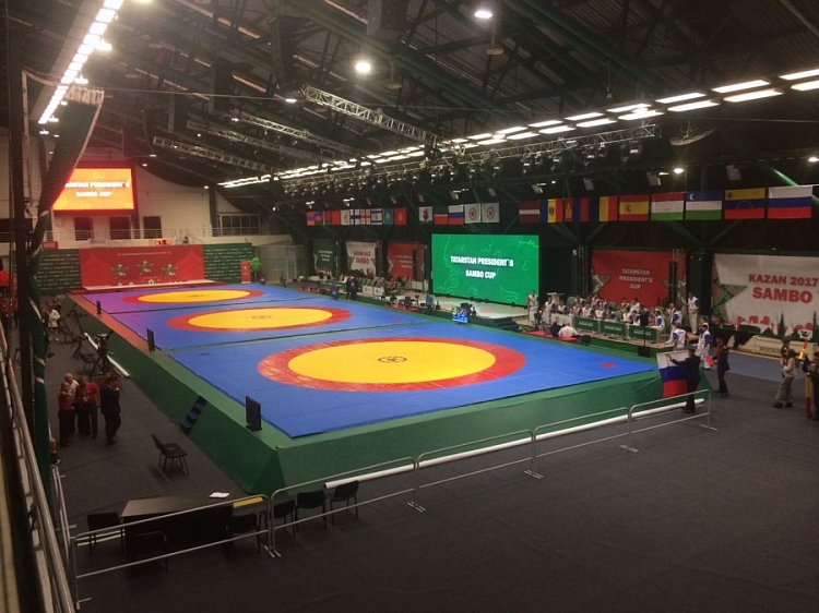 [Live Broadcasting] International SAMBO Tournament for the Prizes of the President of the Republic of Tatarstan
