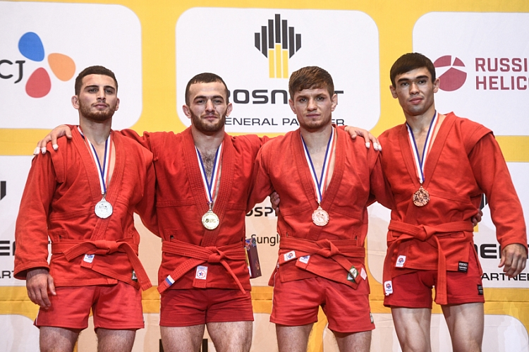 Reflections of the Winners of the 3rd Day of the World SAMBO Championships in Korea