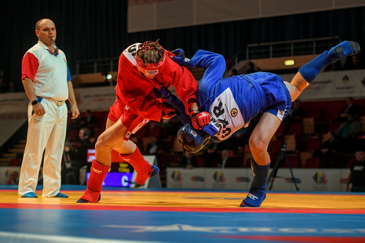 Draw of the 3rd Day of the World SAMBO Championships in Romania